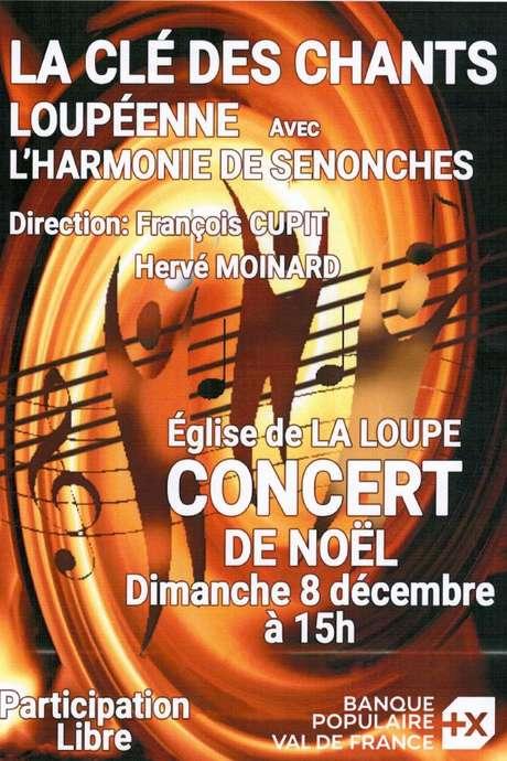 Concert de Noel avec l'Harmonie de Senonches