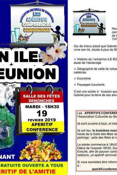 Conférence Mon ile La Réunion