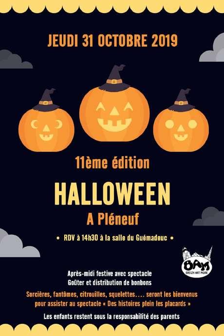 Fête d'Halloween 2019