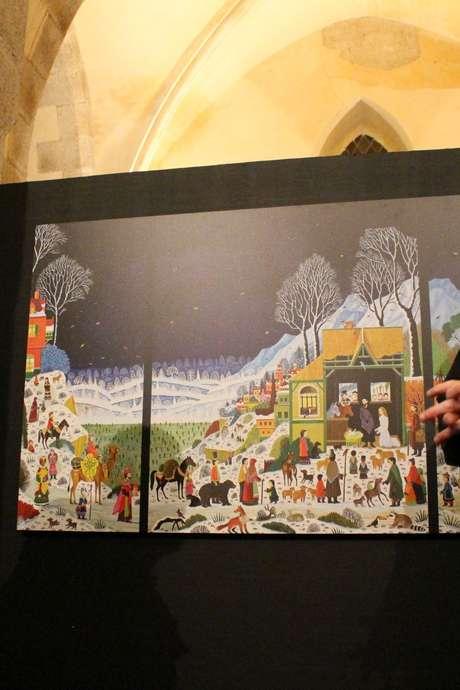"""Exposition Alain Thomas """"Le Cantique des Oiseaux"""" à Hénon"""