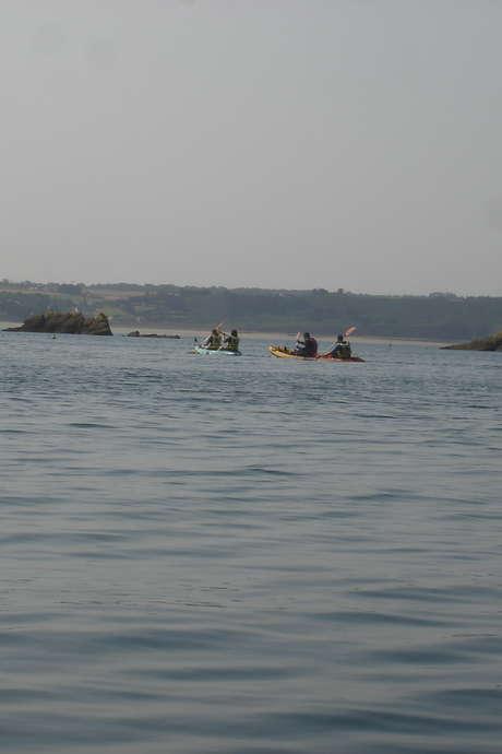 Découverte de l'îlot du Verdelet en kayak