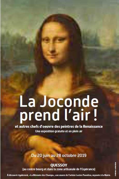 """""""La Joconde prend l'air"""" à Quessoy"""