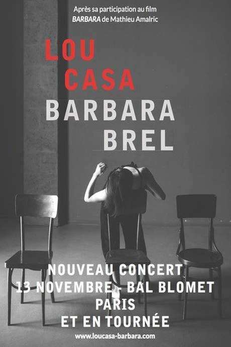 Apéro Franquette Concert : LOU CASA / Barbara & Brel