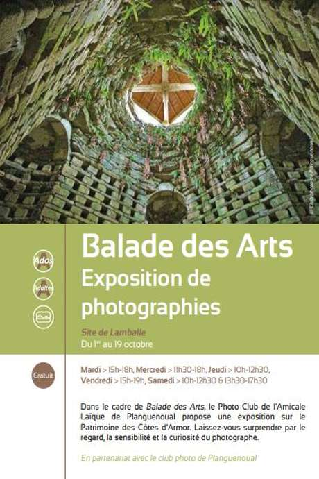 Balade des arts - Exposition de photographies