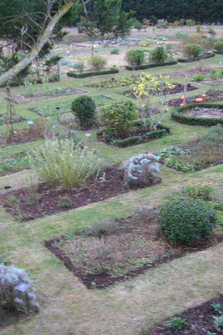 Les jardins d'herbarius-visite guidée