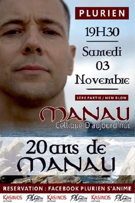 Concert, Les 20 ans de Manau