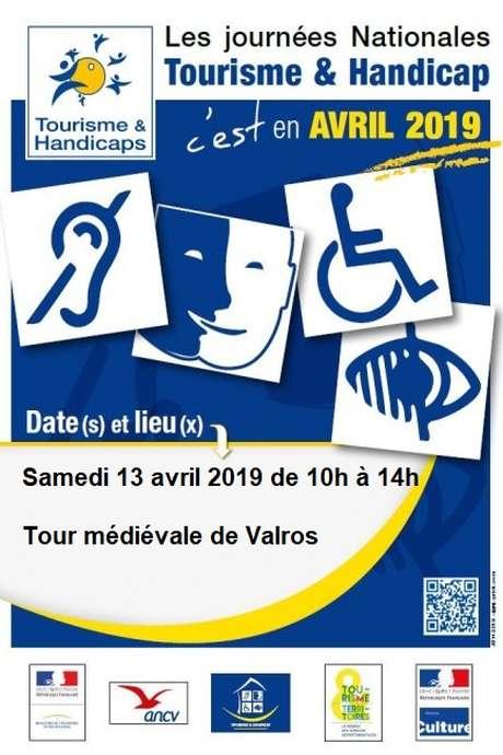 JOURNÉES NATIONALES TOURISME & HANDICAP À LA TOUR DE VALROS