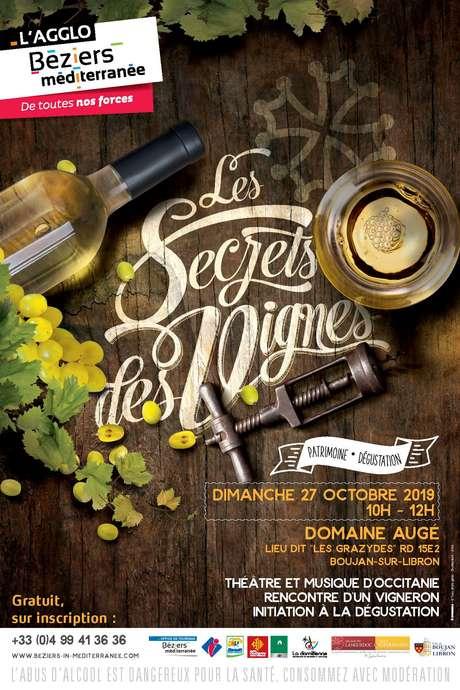 LES SECRETS DES VIGNES - PATRIMOINE, MUSIQUE ET DEGUSTATION