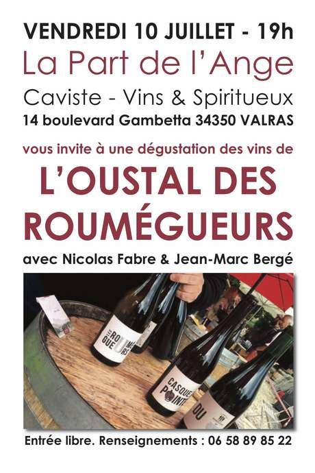 DÉGUSTATION DES VINS DE L'OUSTAL DES ROUMÉGEURS