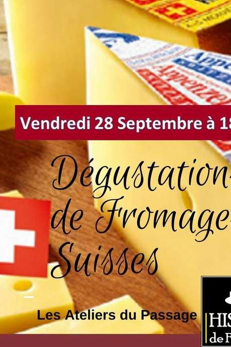 DÉGUSTATION FROMAGES SUISSES