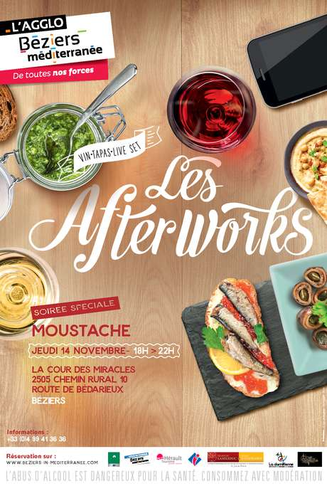 LES AFTERWORK - SOIREE MOUSTACHE
