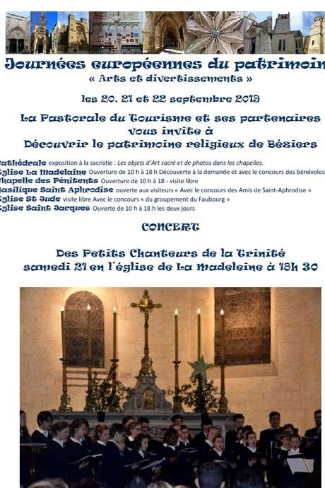 DÉCOUVERTE DU PATRIMOINE RELIGIEUX DE BÉZIERS