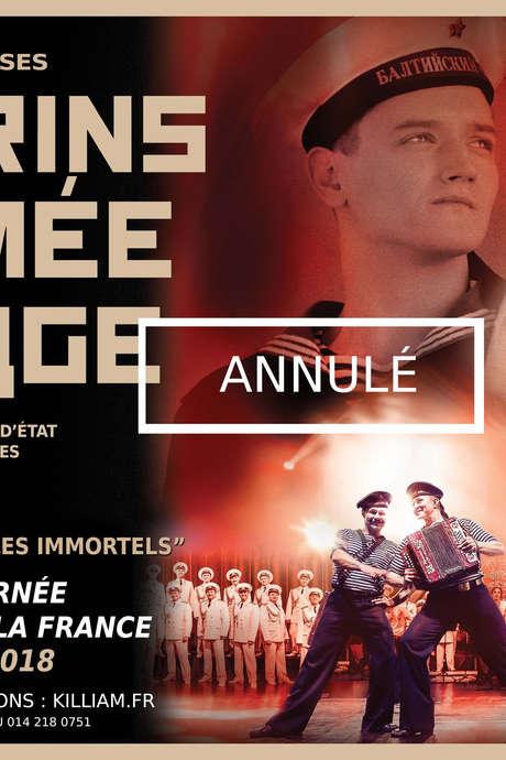 CHŒURS ET DANSES DES MARINS DE L'ARMÉE ROUGE (ANNULÉ)