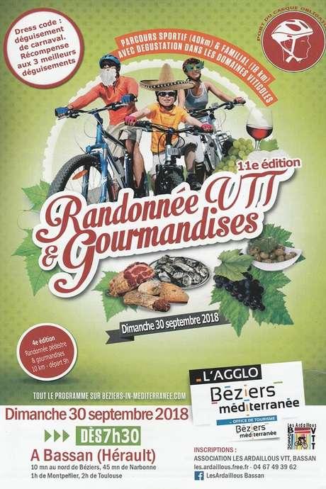 11ÈME ÉDITION RANDONNÉE VTT & GOURMANDISES