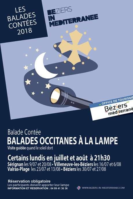BALADE OCCITANE À LA LAMPE À BÉZIERS