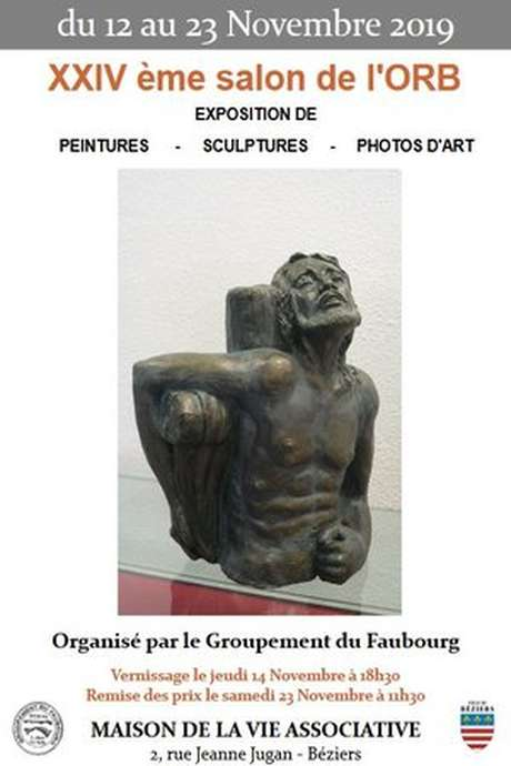 VERNISSAGE - EXPOSITION DE PEINTURES,SCULTURES ET PHOTOS D'ART