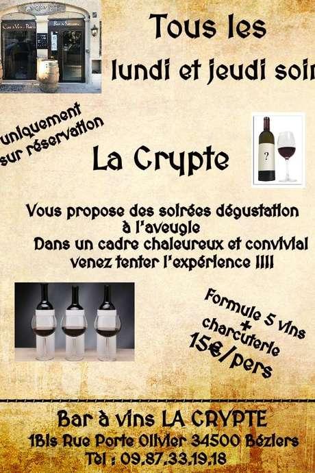 SOIRÉES DÉGUSTATION À L'AVEUGLE