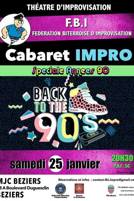 CABARET IMPRO SPÉCIALE ANNEES 90'S
