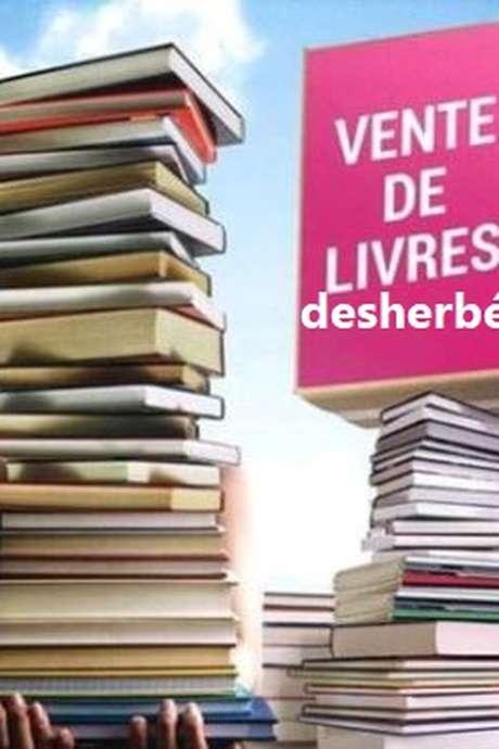VENTE DE LIVRES DÉSHERBÉS