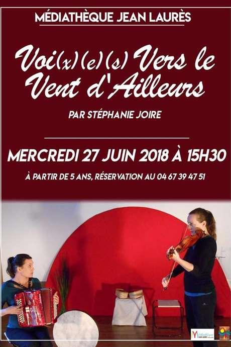 """SPECTACLE MUSICAL """"VOIX VERS LES VENTS D'AILLEURS"""""""