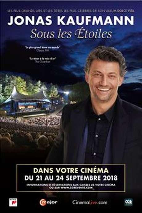 """DIFFUSION CGR DU CONCERT DE JONAS KAUFMANN """"SOUS LES ÉTOILES"""""""