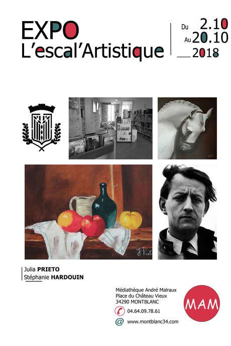 EXPOSITION DE JULIA PRIETO ET STÉPHANIE HARDOUIN