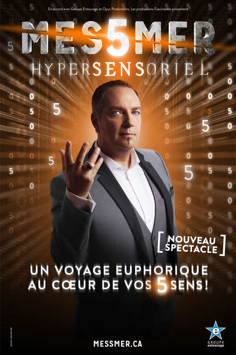 "SPECTACLE DE MESSMER ""HYPERSENSORIEL"""