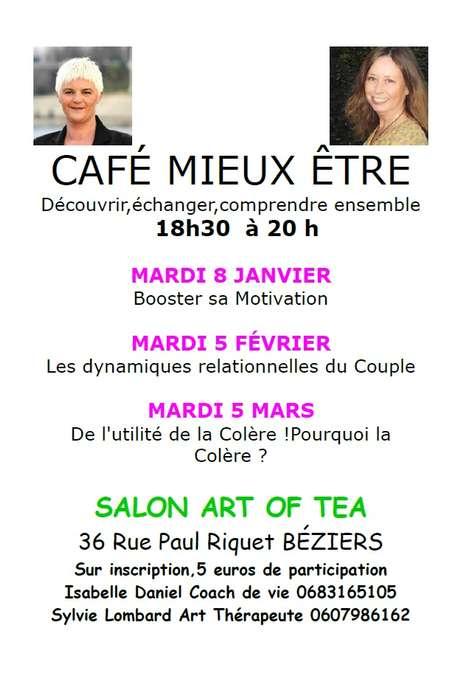 """CAFÉ MIEUX ÊTRE : """"DE L'UTILITÉ DE LA COLÈRE"""""""