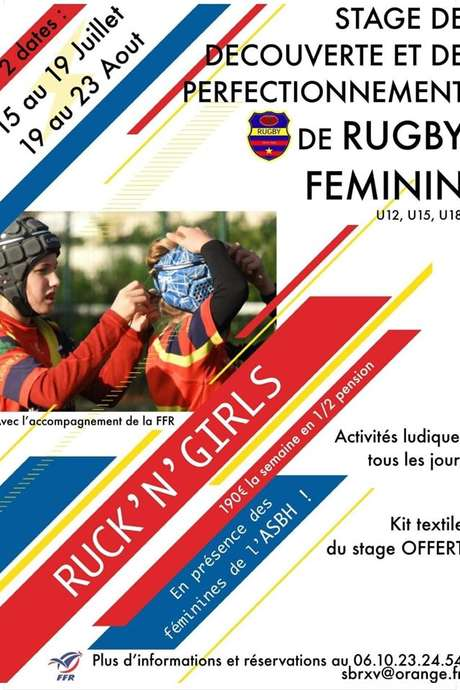 STAGE DE RUGBY : RUCK'N'GIRLS