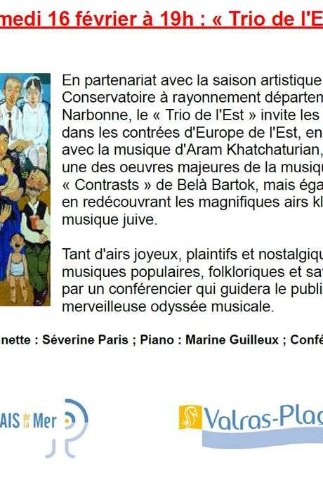 CONCERT «TRIO DE L'EST»