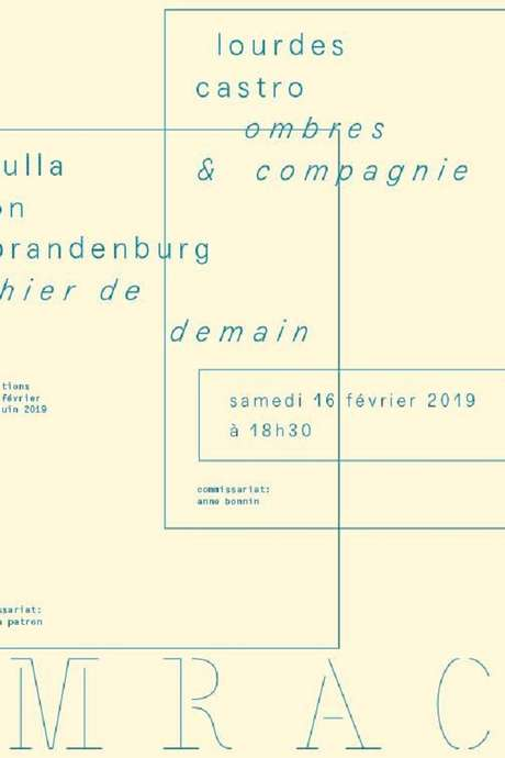 "EXPOSITION DE ULLA VON BRANDENBURG. ""L'HIER DE DEMAIN"""