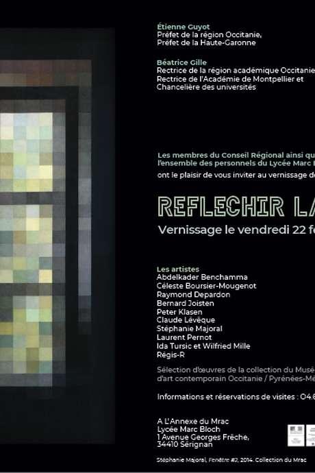 """VERNISSAGE DE L'EXPOSITION """"RÉFLÉCHIR LA LUMIÈRE"""", PROJET PÉDAGOGIQUE """"TOUS COMMISSAIRES """"."""