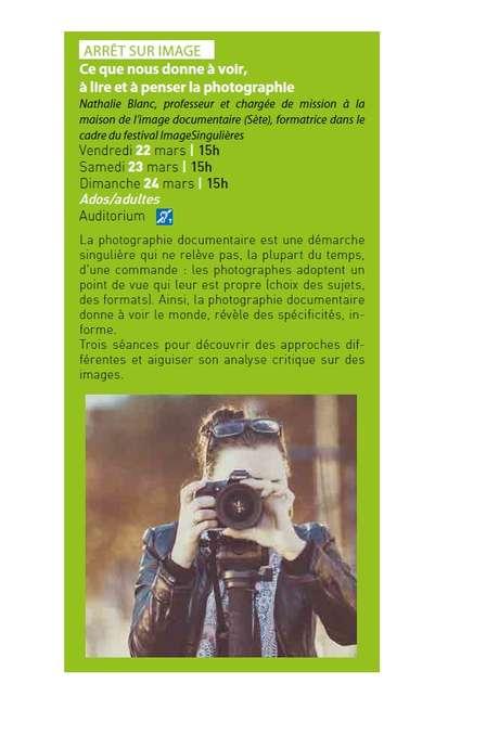 """ARRÊT SUR IMAGE """"CE QUE NOUS DONNE À VOIR, À LIRE ET À PENSER LA PHOTOGRAPHIE"""""""