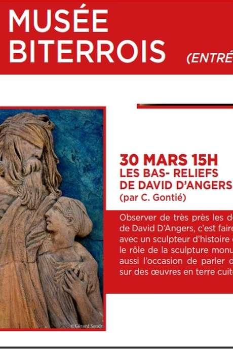 CONFERENCE : LES BAS-RELIEFS DE DAVID D'ANGERS