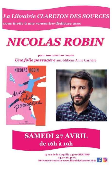 RENCONTRE-DÉDICACE AVEC NICOLAS ROBIN
