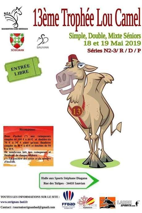 BADMINTON : TOURNOI LOU CAMEL 13