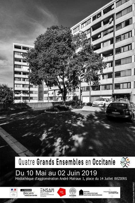 EXPOSITION : 4 GRANDS ENSEMBLES EN OCCITANIE