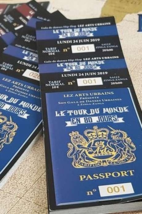 SPECTACLE : LE TOUR DU MONDE EN 80 JOURS