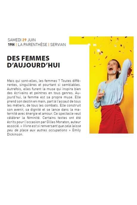 """""""DES FEMMES D'AUJOURD'HUI"""""""
