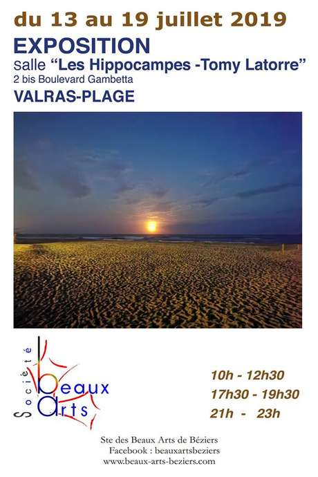 EXPOSITION SOCIETE DES BEAUX-ARTS DE BEZIERS