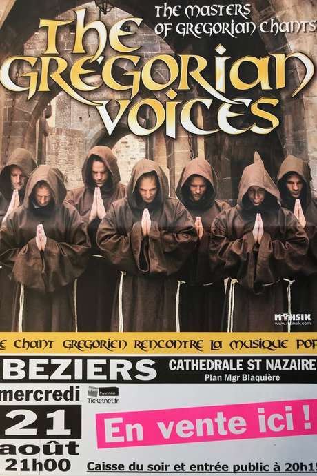 CONCERT : THE GREGORIAN VOICES