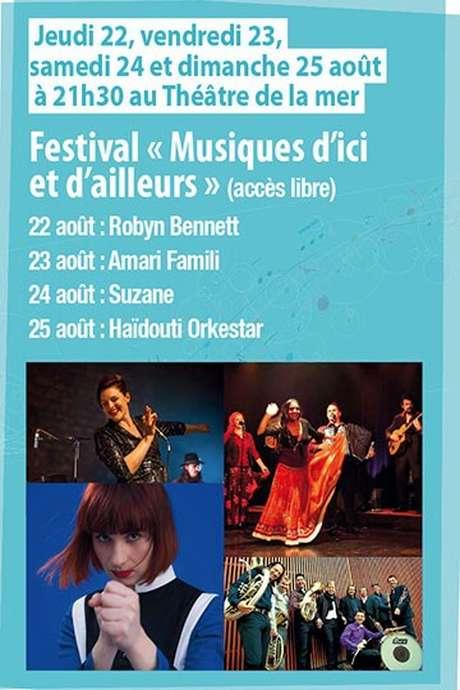 FESTIVAL « MUSIQUES D'ICI ET D'AILLEURS »