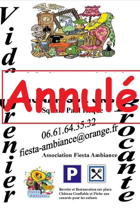 ANNULÉ  - VIDE-GRENIERS - ANNULÉ