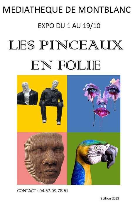 """EXPOSITION """"LES PINCEAUX EN FOLIE"""""""