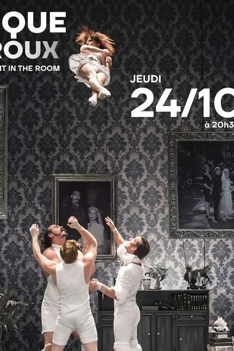 """CIRQUE LE ROUX """"THE ELEPHANT IN THE ROOM"""""""