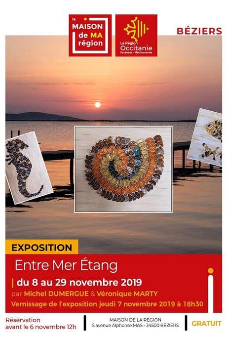 """EXPOSITION """"ENTRE MER ETANG"""""""