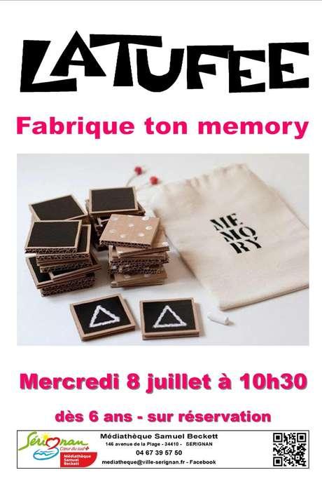 LATUFEE - FABRIQUE TON MEMORY