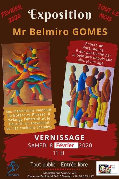 EXPOSITION DE BELMIRO GOMES