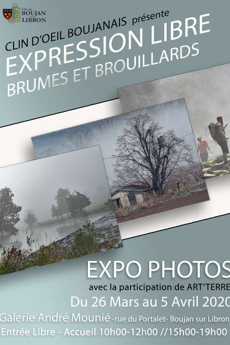 "EXPO PHOTOS : ""BRUMES ET BROUILLARDS"""