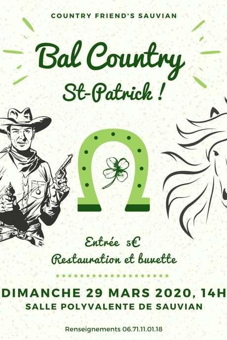 ANNULÉ - BAL COUNTRY DE LA SAINT PATRICK